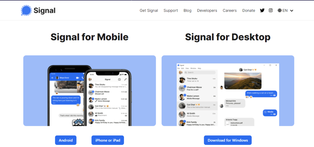 Signal App Kaise Use Kare_