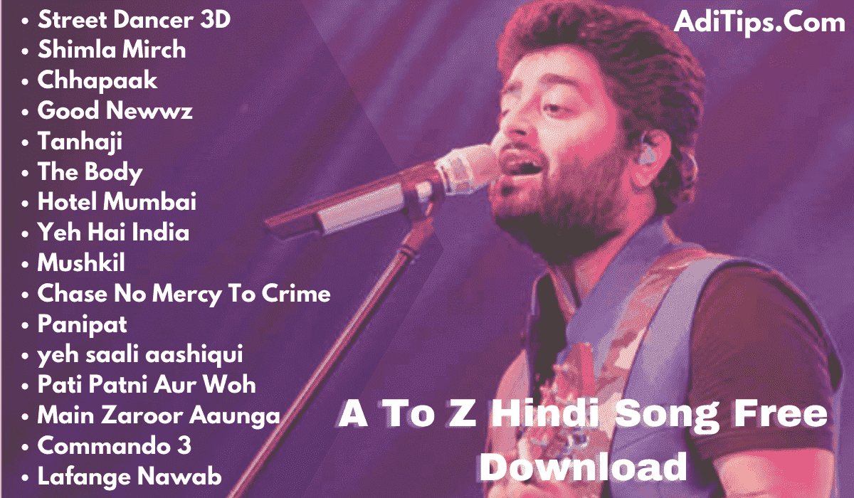 A To Z Hindi Mp3 Songs Free Download