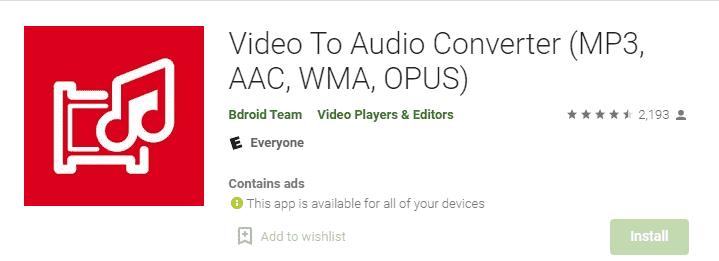 Best Youtube To Mp3 Converter App