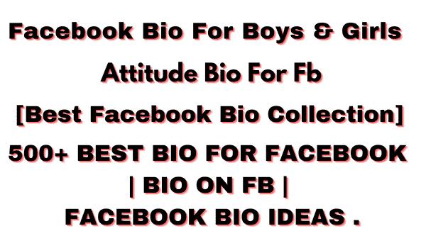 facebook Bios For Boys (1)
